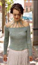 Corded Yoke pullover