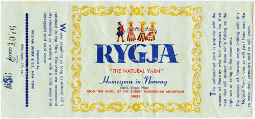 RYGJA Norwegian wool