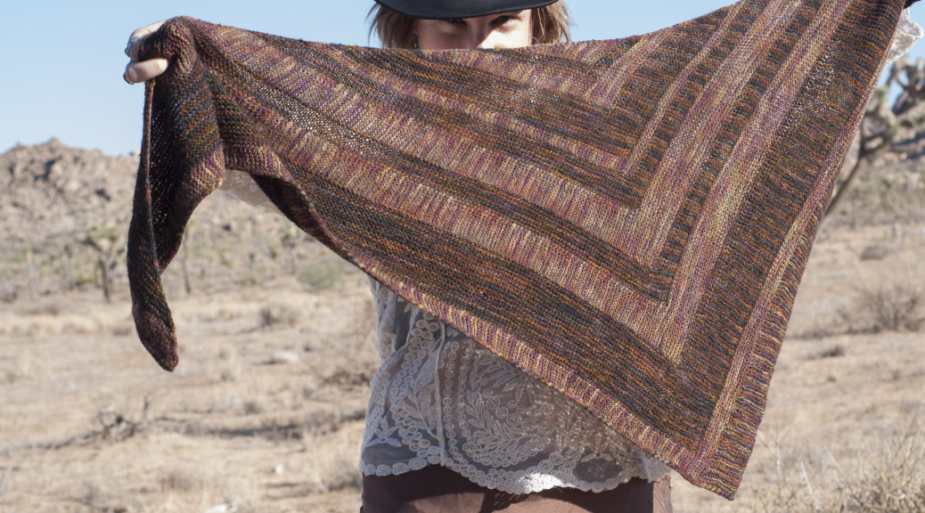 Flatirons shawl